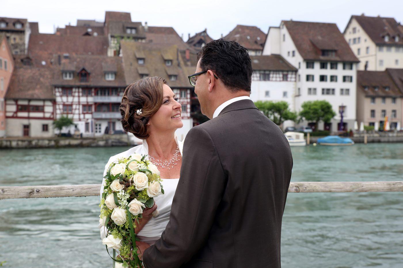 Hochzeitsshooting in Diessenhofen Schweiz am Rhein