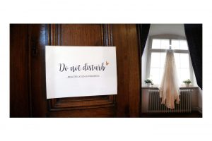Hochzeitsdetails fotografiert