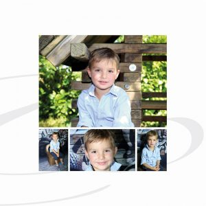 Collage für Kindergarten Fotoshooting
