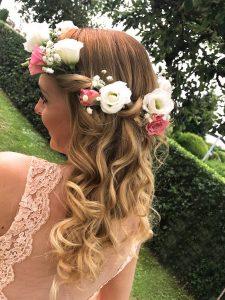 Haarblumenkranz der Brautjungfer