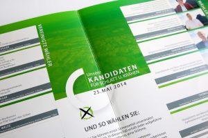 Broschüre Ortschaftsratwahl Schlatt u. Kr Kandidaten