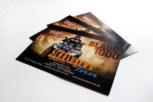 Flyer des TGB Blade 1000 Quads von Schraubers Inn