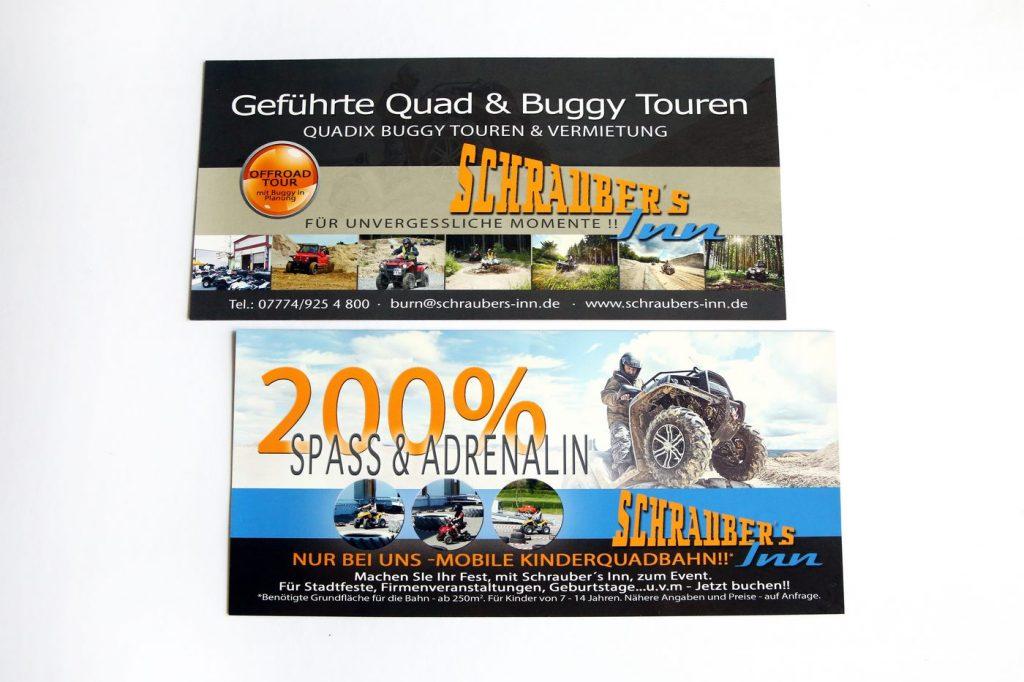 Flyer geführte Quad und Buggy Touren Schraubers Inn Quadix