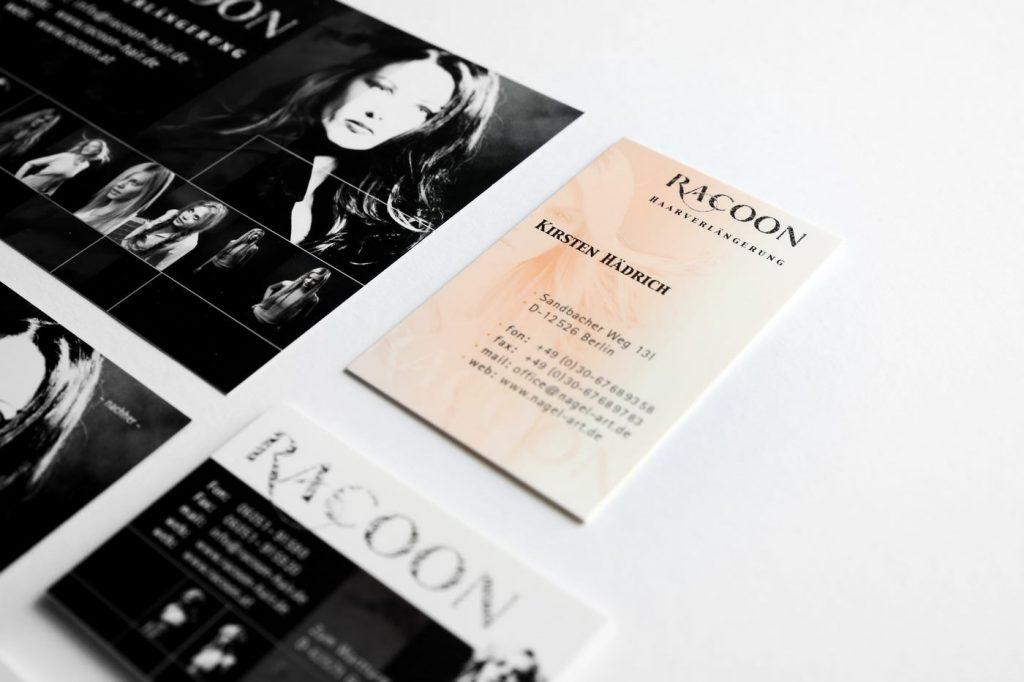 Racoon Visitenkarte