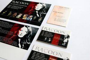 Racoon Übersicht Druckmedien