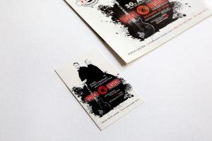 Visitenkarten der Band Voice Inside zum Tanz in den Mai