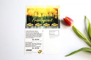 Autohaus Moser Engen Postkarte Frühlingszeit