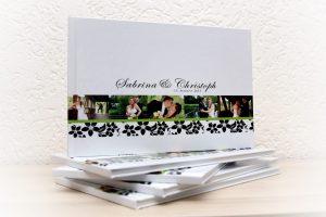 Gestaltete Fotobücher Hochzeit