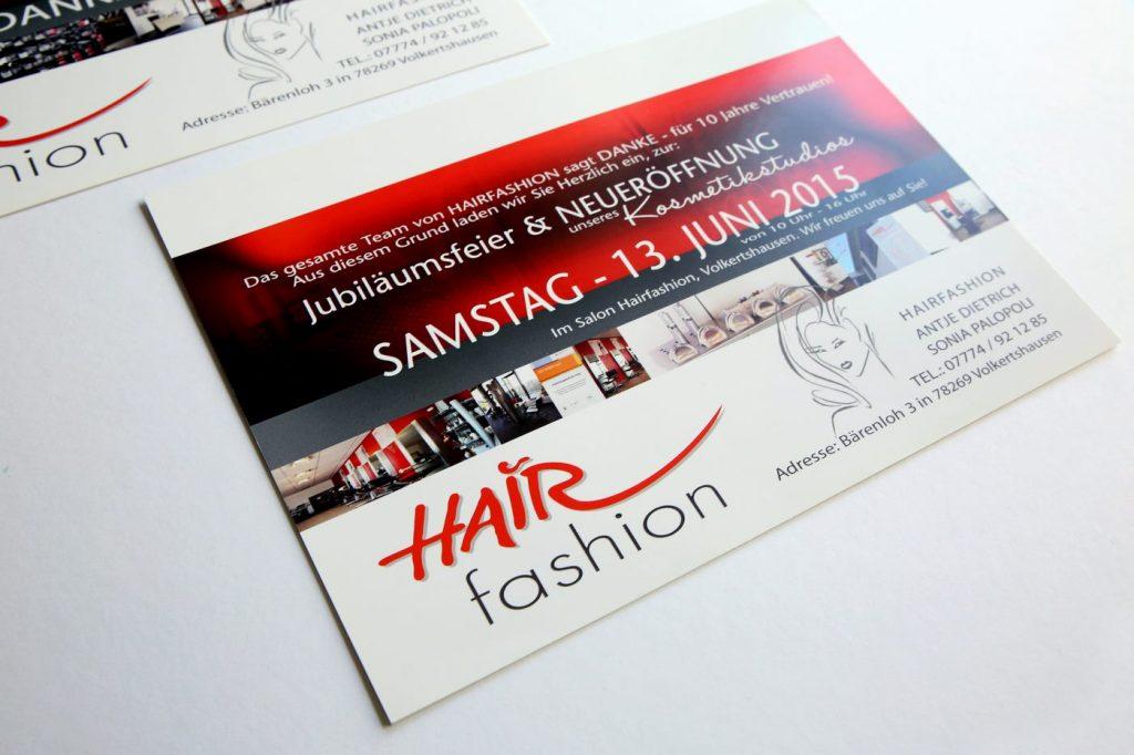 Jubiläumsfeier Frisör Hairfashion Volkertshausen
