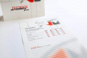 Feedbackkarte und Bogen Steuerkanzlei Mayer Singen