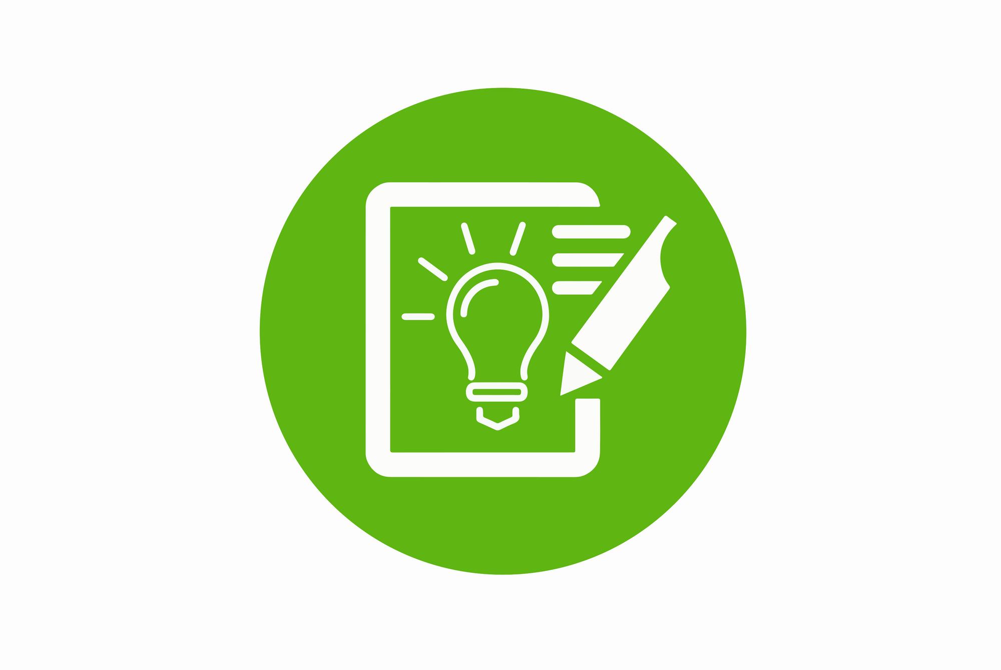 PMG Design Icon Werbung grün