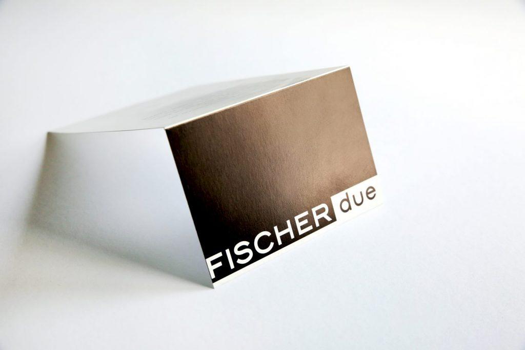 Mode Fischer due Karte geklappt