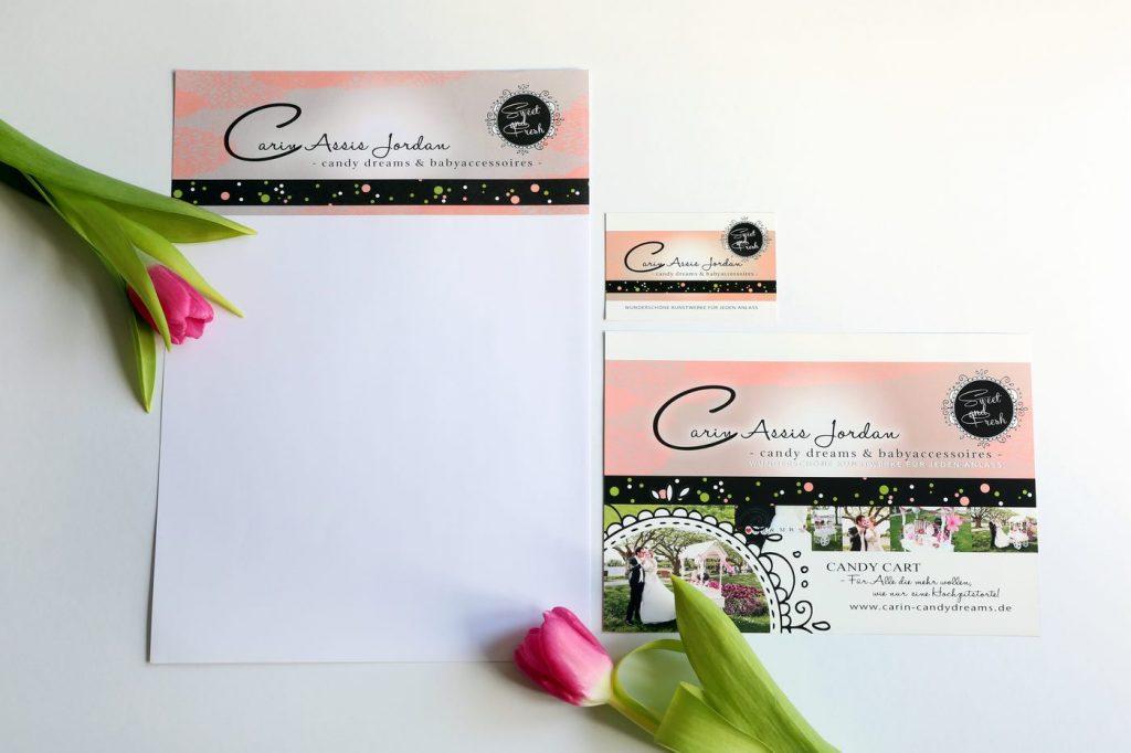 CI Design Flyer Carin Assis Jordan Candy-dreams.de