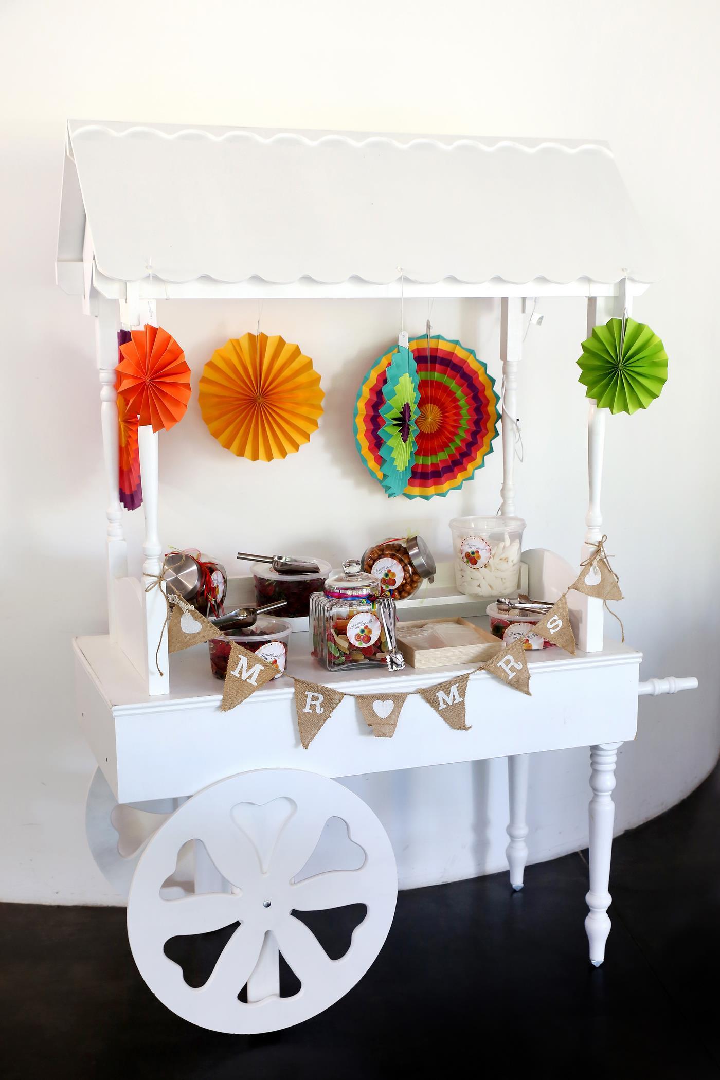 Candy Cart Komplett