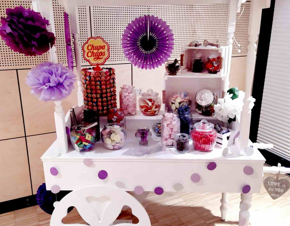 Candy Cart Lila