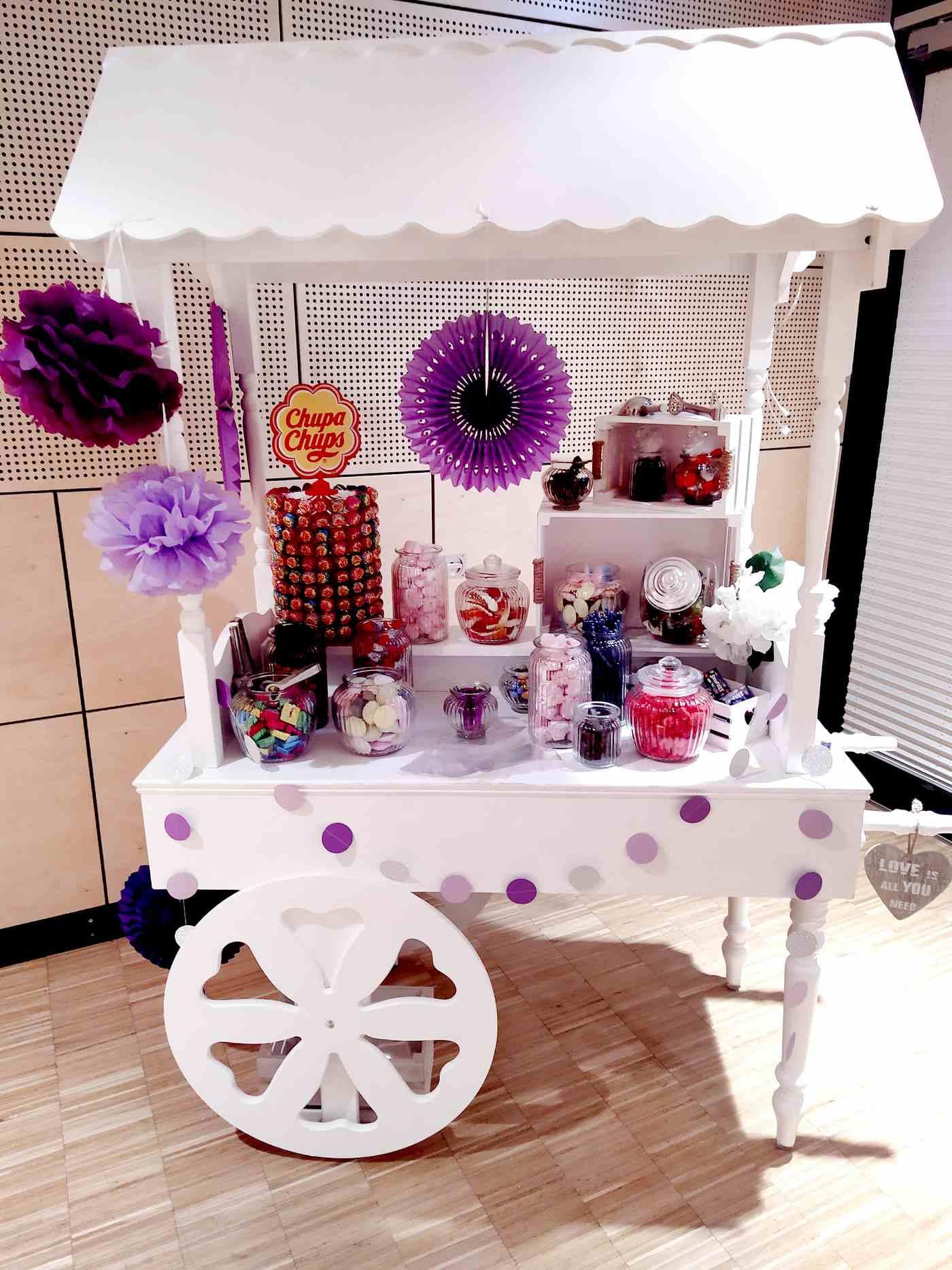 Candy Cart Lila
