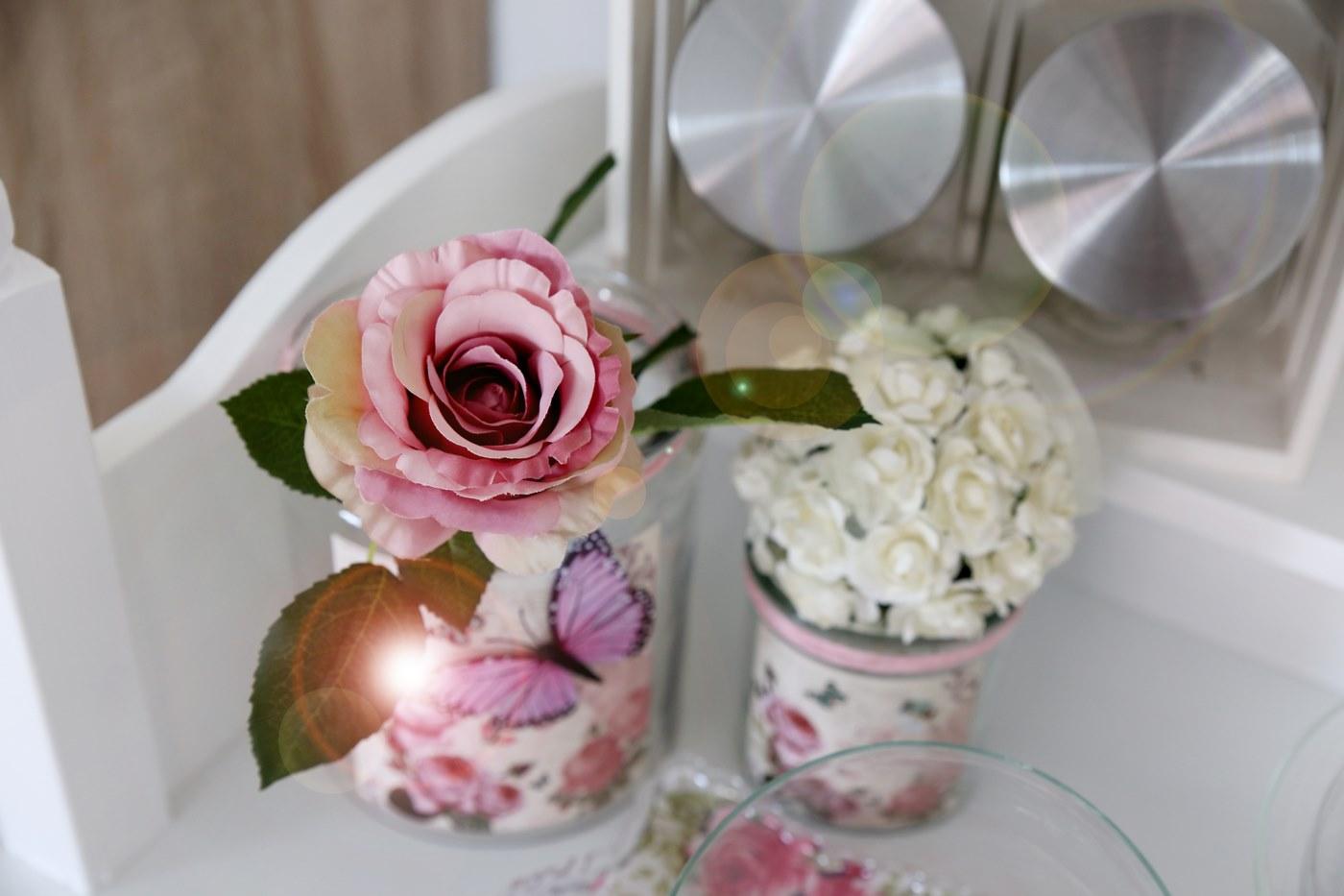 Candy Cart Nah mit Blume