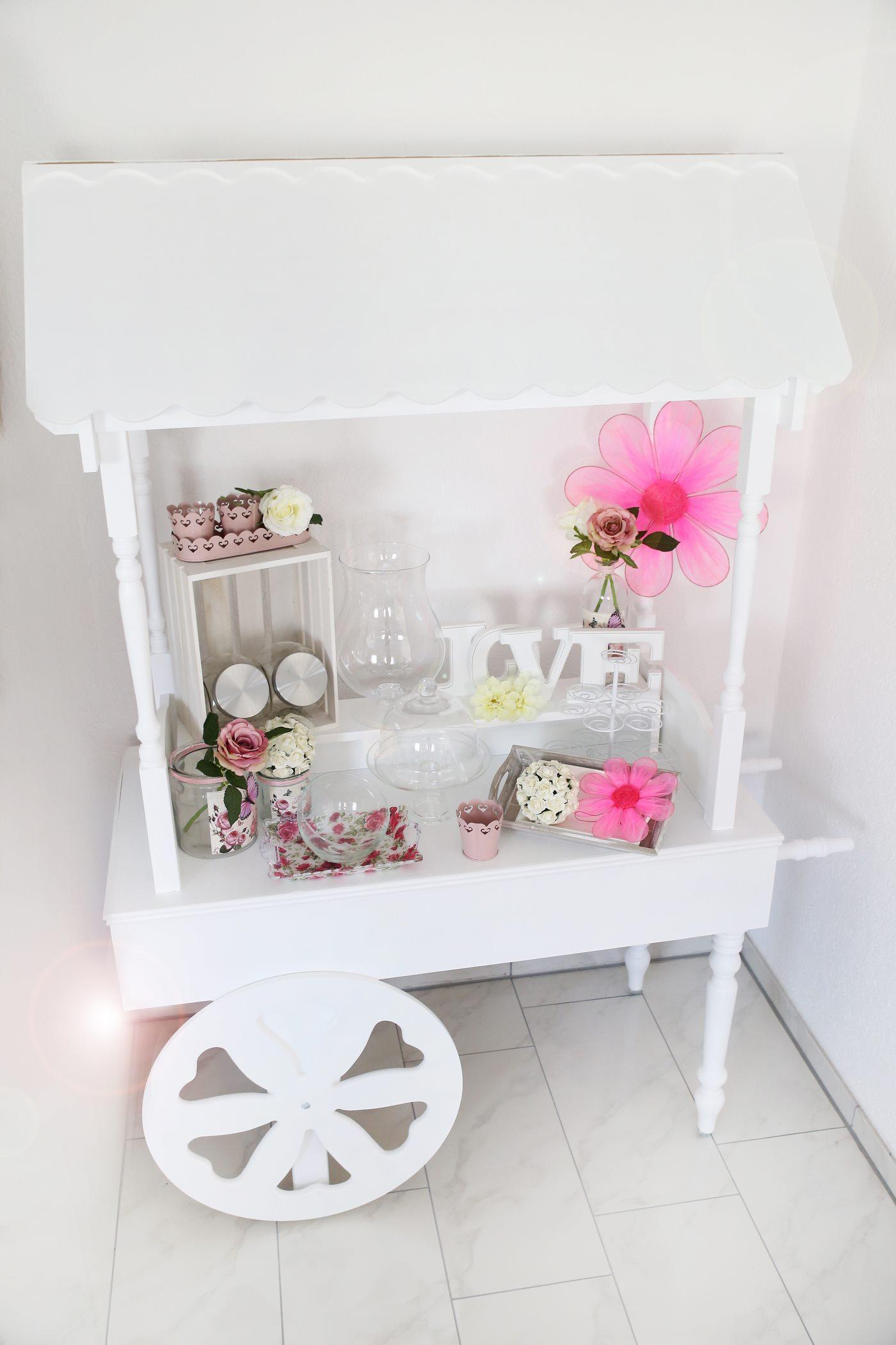 Candy Cart Weiß